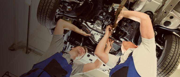 Техническое обслуживание и ремонт ходовой части